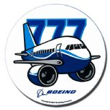 Boeing 777 Pudgy Sticker (new)